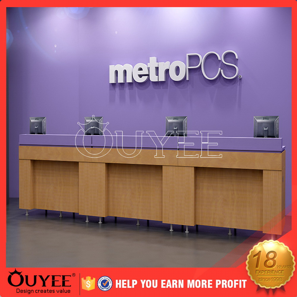 factory new design mobile phone store furniture cellphone shop design