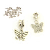 2013 New Fashion butterfly charms 925 silver pendant charms