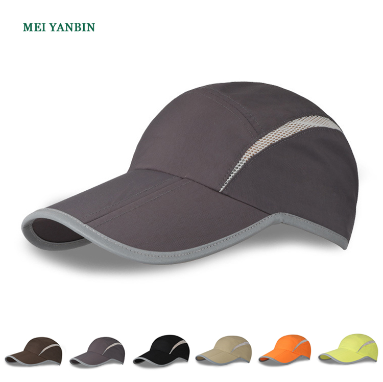 CL-B wholesale foldable plain dry fit running sports baseball <strong>cap</strong>