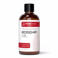 Rosehip Oil 4 oz -100% Pure and Organic - Cold Pressed & Unrefined For Skin, Face, and Nails--585135
