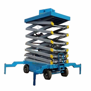 2019 self propelled small mini aerial work platform scissor Lift