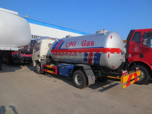 New style antique cryogenic lpg tank truck