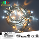CE 10M twinkle led light chain / outdoor led party twinkle icicle light