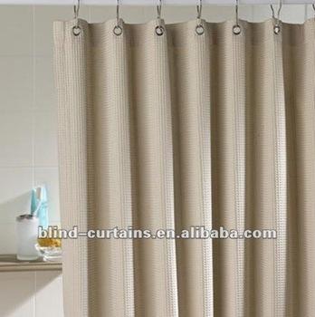 Plain Color Hookless Shower Curtain Buy Plain Color