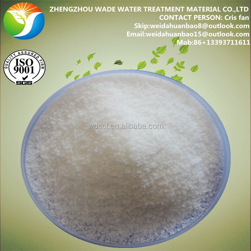 Industrial Waste Water Treatment Chemical Flocculant Waste Paper News PAM