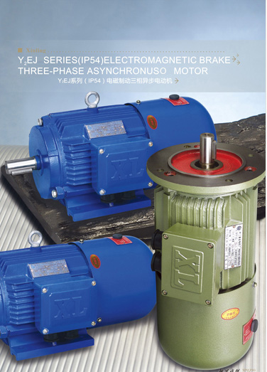 Y2EJ Series (IP54) Electromangetic Brake Three-phase Asynchronous Motor