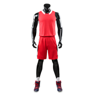 College designs custom logo designs red basketball jersey uniform