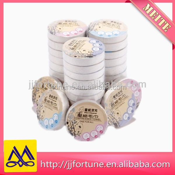 100 COTTON Coin tissue / magic tissue / compressed towels