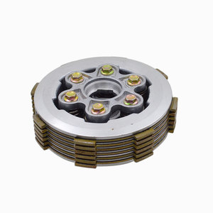 Motorcycle 6 Column Enhanced Center Clutch Drum Assembly With Widen Friction Pressure Plate For CG150 CG 150 Spare Parts