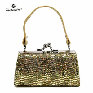 New Fashion Custom Metallic christmas cute Coin Wallet of children glitter shining purses for ladies