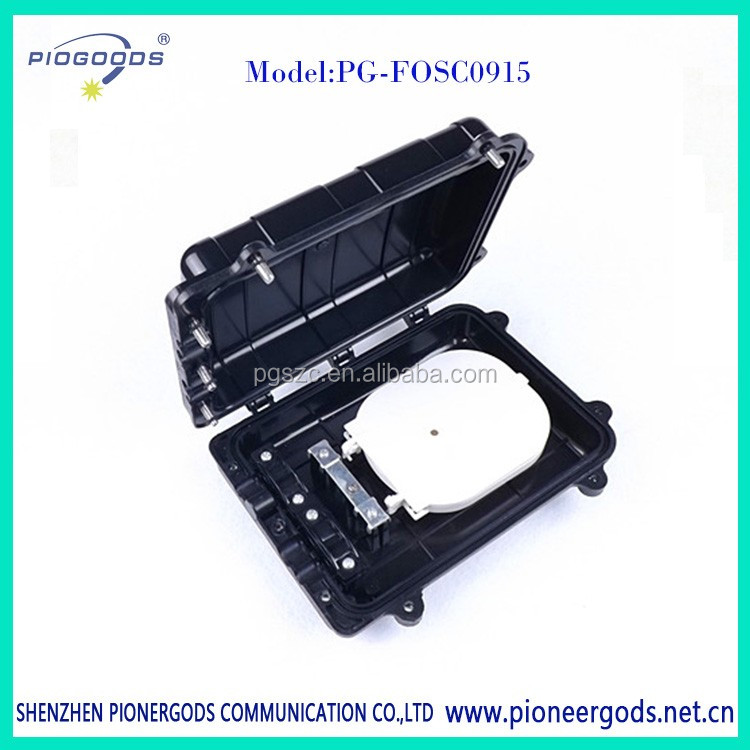 PG-FOSC0915 mini size plastic box optical fiber Splice Closure