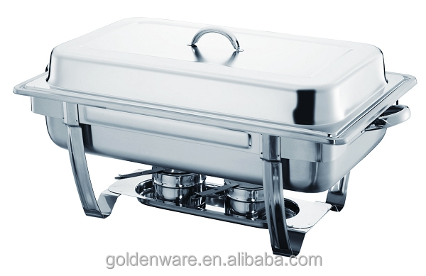 Golden Ware GW-833B 9L The Most Popular Hot Selling soup warmer / soup chafing dish