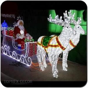 d6fceba7de Large Outdoor Santa Sleigh