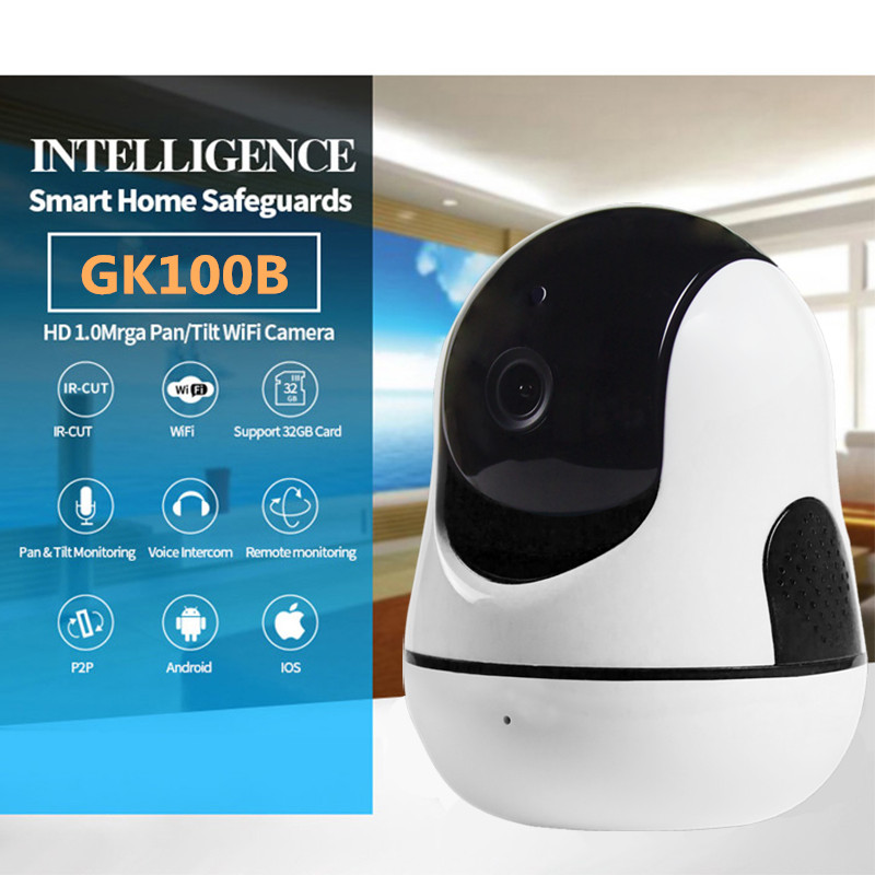 Home Security HD Wireless IP Camera P2P 720P Wifi Video Surveillance Camera Outdoor Indoor WIFI CCTV Infrared Camera