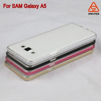 ad8447e863d Wholesale Colorful tpu cover cell phone arc aluminum metal bumper case for  Samsung galaxy A5/