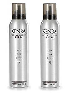 KENRA Volume Mousse Extra Hold Fixative 8oz (2 PACK!)