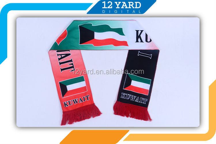 Bufanda Mágica Patrón Kuwait Tejer Nacionales Bandera En Forma De ...