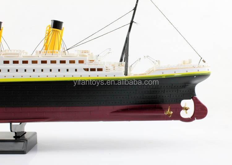 1:325 Scale Rc Titanic Boat Ship Model Toys With Light And Music ...