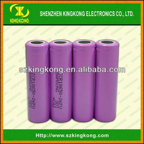 China manufacturer 3.7 v lithium ion 18650 rechargeable battery for power bank
