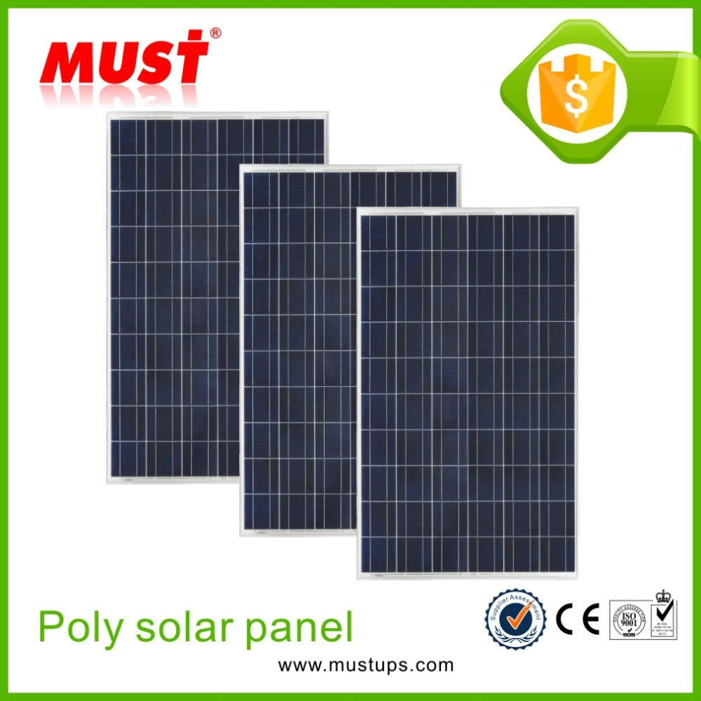 2016 poly PV module/hot sale new energy poly crystalline 150w 12V solar panel for home