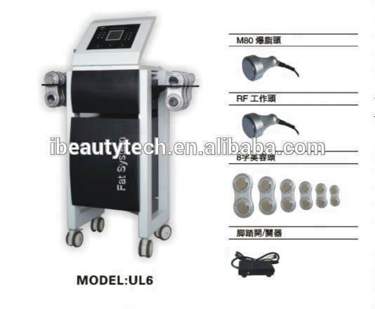 2017 UL6 cavitation /cavitation machine /laser cavitation fat system ls650