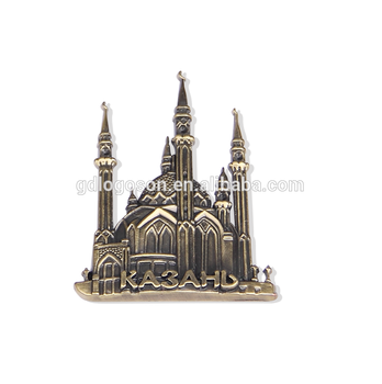 Metal Embossed Custom Magnets Anti Silver Customised Fridge Magnet Souvenirs