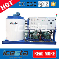 Full automatic 15 tons industrial ice slice making machine maker for concrete cooling
