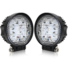 "Led Work Lamp Cheap Tractor Construction Vehicle ATV UTV 4.6"" Inch Round 12V 27W Truck Led Work Lights For Cars"