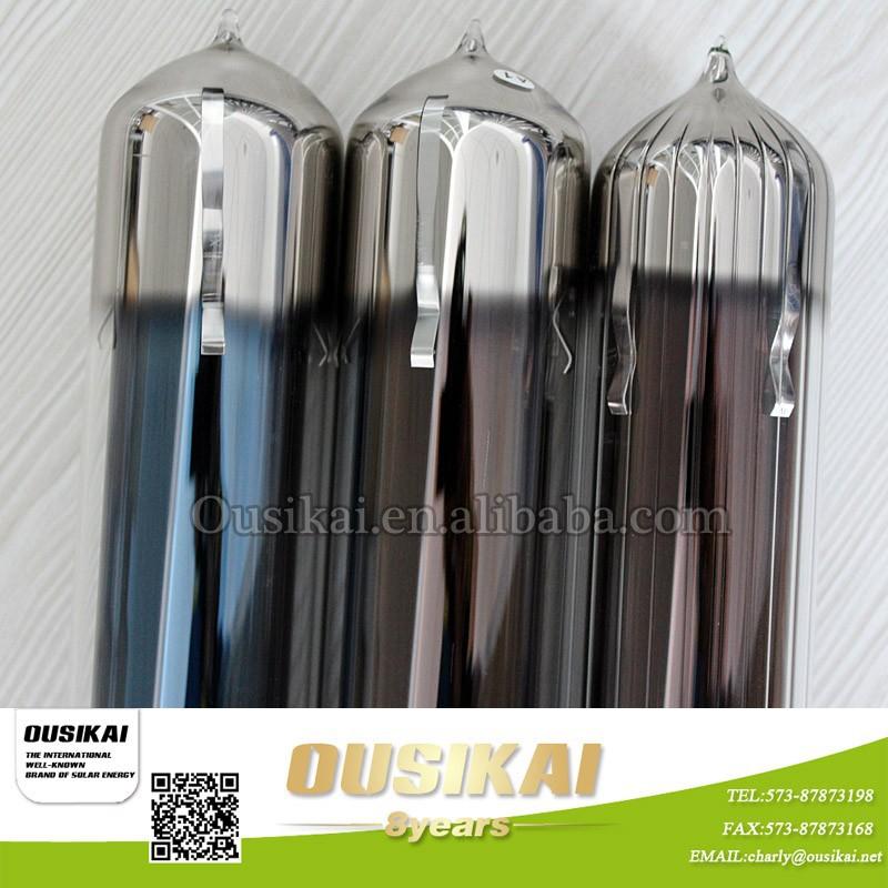 Tube vide sous pression solaire heat pipe pour chauffe for Chauffe eau solaire sous vide