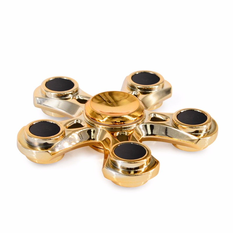 In stock now high speed finger toy 5 bar hand spinner from china