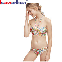 Women bikini set junior girls swimwear swimsuit model