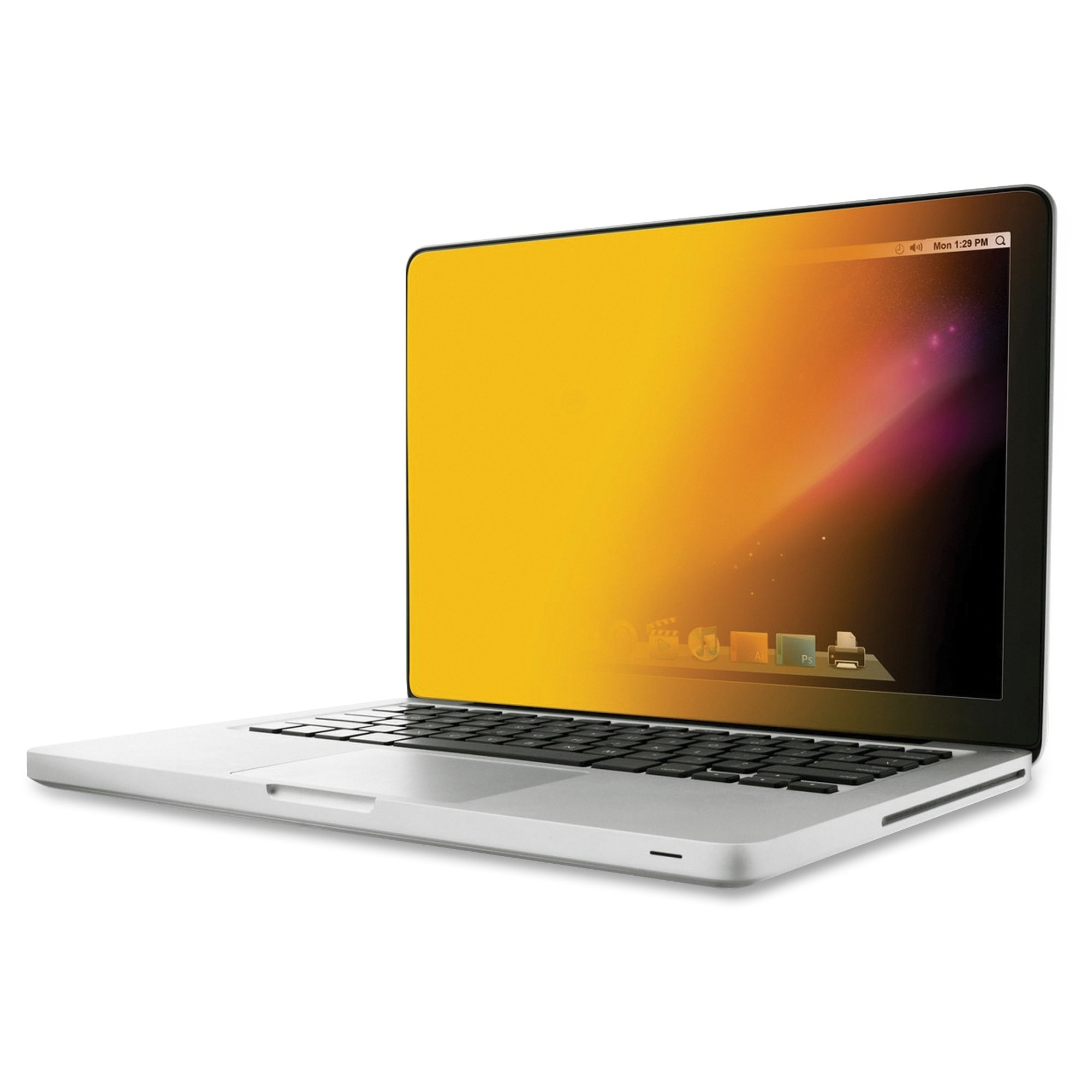 3M GPFMR15 GOLD Privacy Filters - Notebook privacy filter - 15.4 inch - gold - for Apple MacBook Pro with Retina display (15.4 in)
