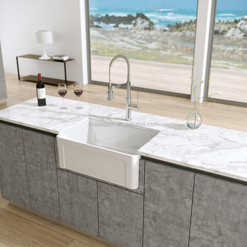 36 Inch Upc Solid Surface Kitchen Farmhouse True Acrylic Sink - Buy White  Kitchen Sinks,Cheap Kitchen Sinks,Acrylic Integral Solid Surface Kitchen ...