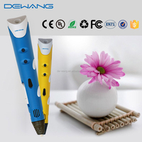 Magic Semi-automatic 3d Drawing pen 3d novelty gift toy pen for kids