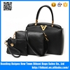 Cheap 3 Pcs in 1 lady set bags designer fashion women handbags with crossbody bag ,purse tote bag