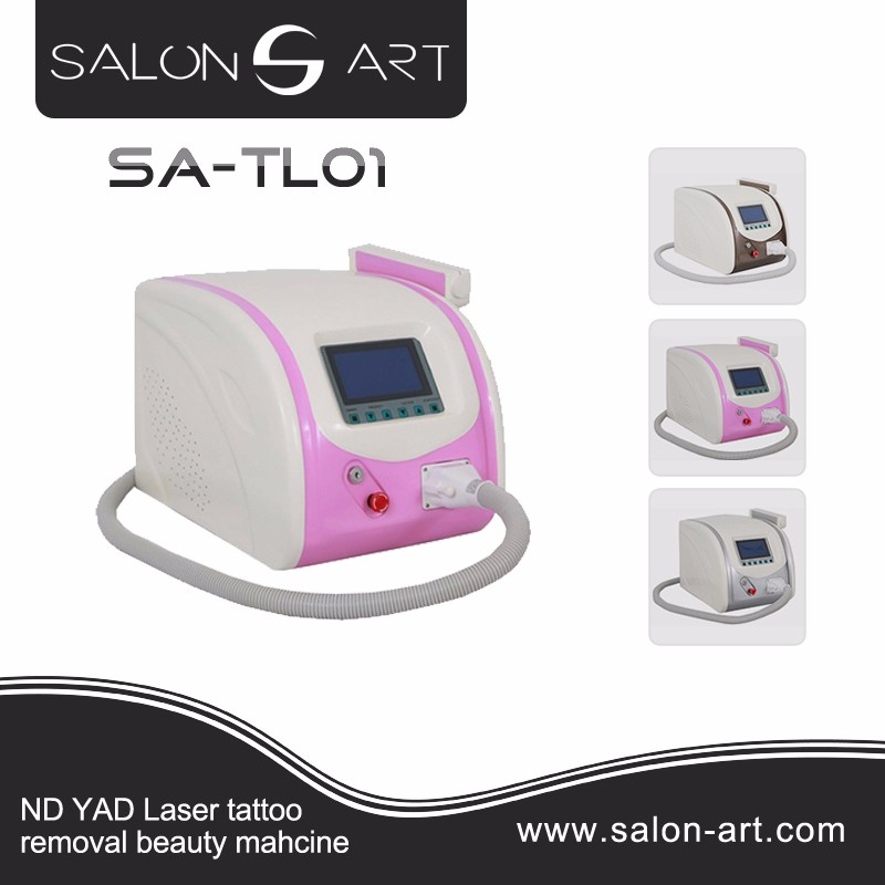 New Pro 1064&532nm Q Switch YAG LASER Tattoo Removal Machine Laser hair removal SA-TL01