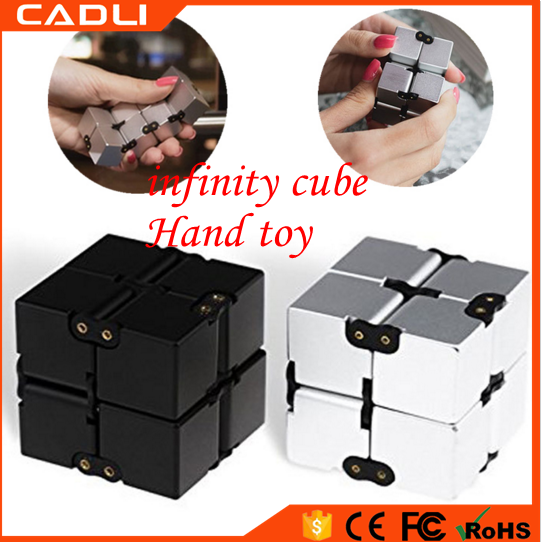 Stress Relieve Hand Toy Plastic Relax Pressure Relief Infinity Fidget Cube