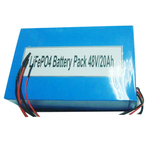 48V 20Ah lifepo4 battery pack for electric vehicles