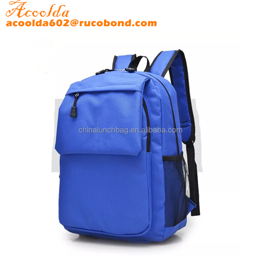 Guangzhou wholesell 600D travel backpack bag