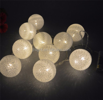 Cotton String Ball Handmade Light 230v Party