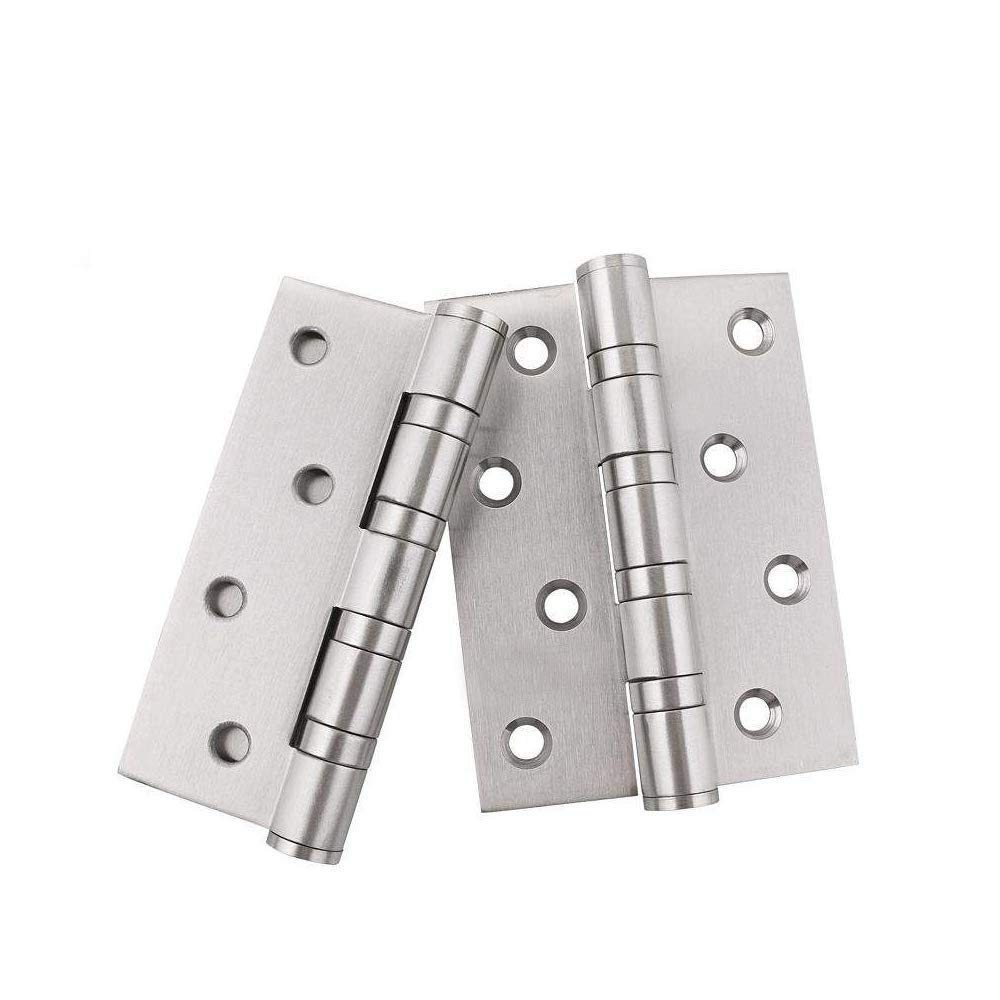 3PCS copper tone stainless steel ball bearing door hinge