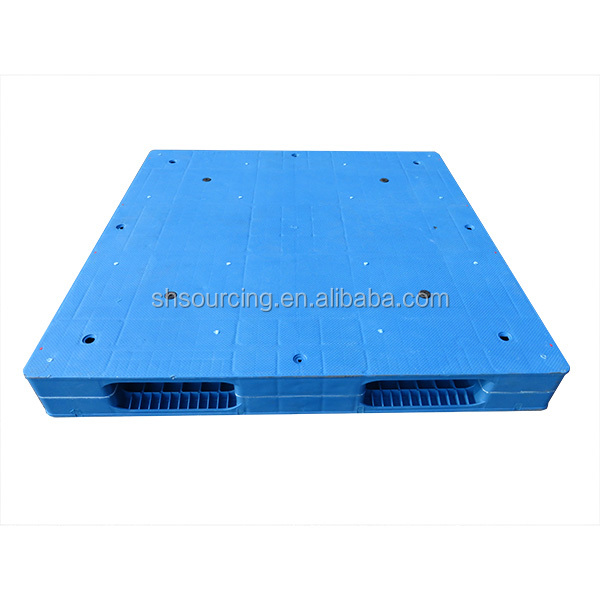 HOT SALE light duty double face 4 way euro recycled one way export plastic pallet