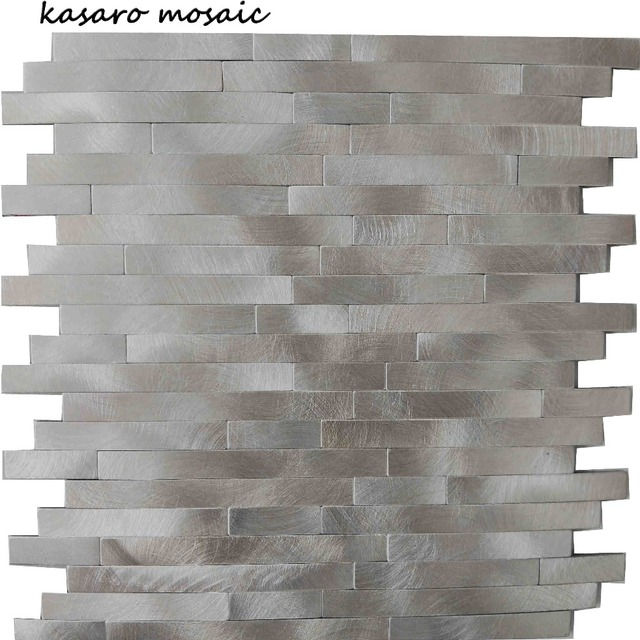 Newest Design Metal Peel and Stick Mosaic Wall Tile