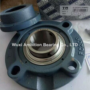 Large stock TR pillow block bearing UCFC209R3