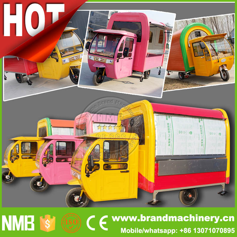 mobile trailer food truck, collapsible cart with wheels, mobile pizza food cart for sale