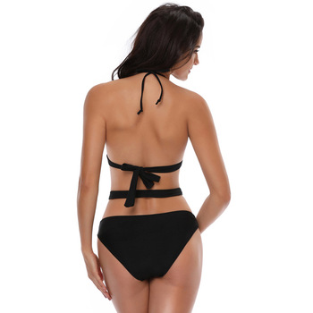 2019 Newest Custom Design Sexy Sporty Bikini Swimwear