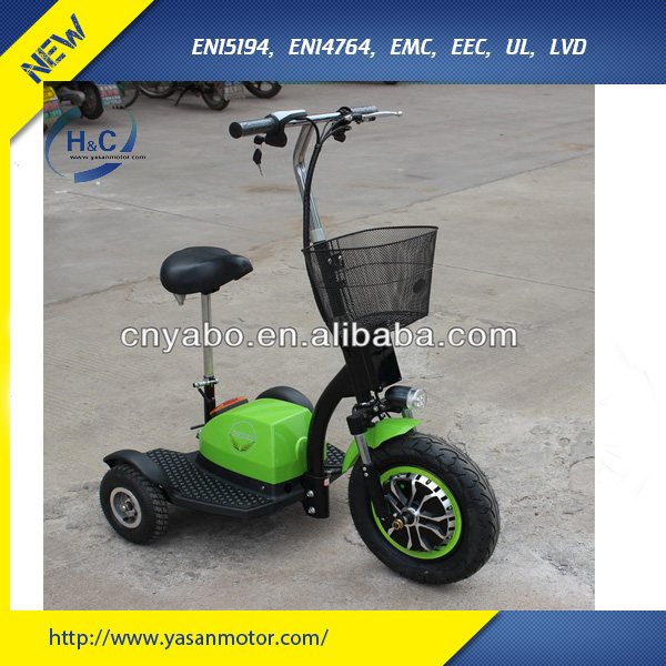 new products 2015 modern design 350w 500w brushless motor High Quality Economic ZAPPY three wheel electric scooter