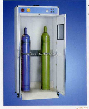 Laboratory Gas Cylinder Storage Cabinet With Alarm System