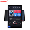 "Kirinavi Universal Vertical Screen Tesla 2 DIN Radio Android 10.1"" Video Rotating Flexible Screen Facing Panel Car Dvd Player"