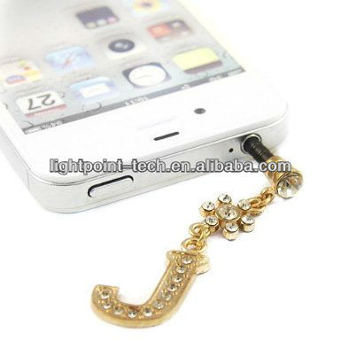 Hot selling for iphone ear cap dust plug